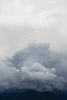 Cumulonimbus in serra del cadi, cerdanya, pyrenees, spain