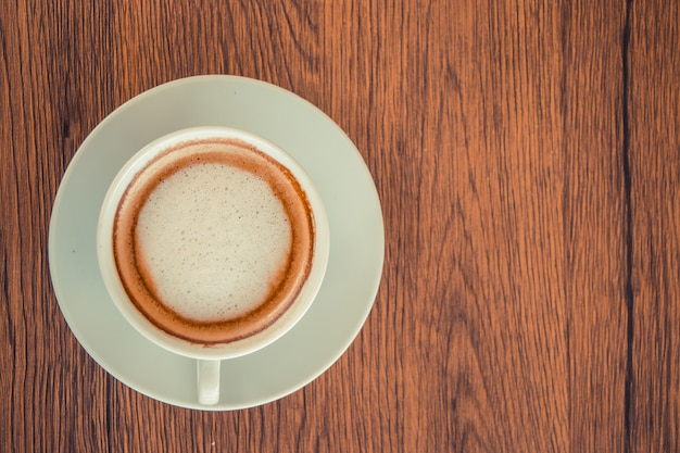 Cup of cappuccino coffee Premium Photo