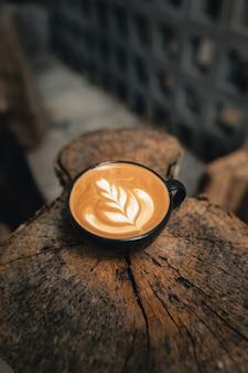 Чашка кофе латте в кофе шо, кофе латте арт сделать бариста