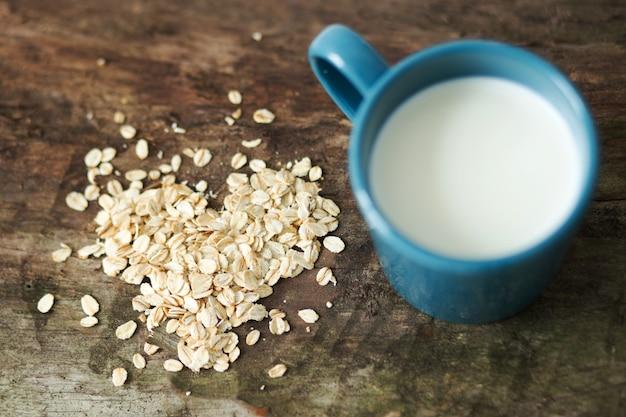 Чашка молока