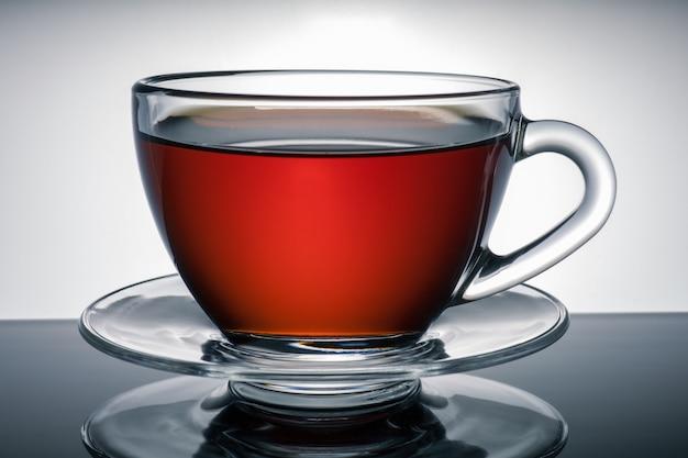 Чашка чая на фоне красивого фона