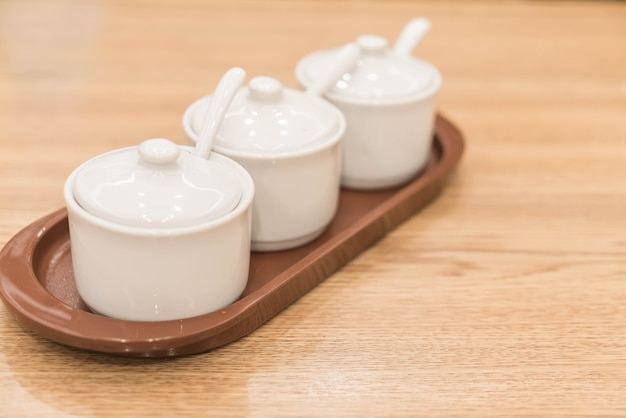 Чашка или миска приправы
