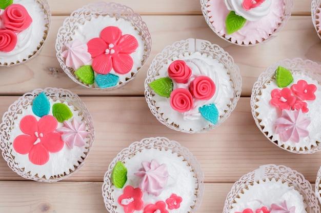 Cupcake for valentine day.