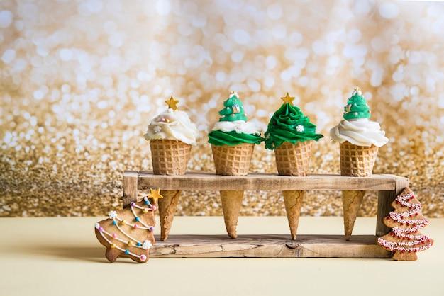 Cupcakes for christmas time original idea