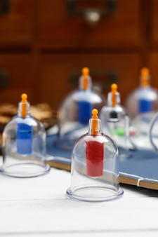 Cupping therapy of traditional chinese medicine