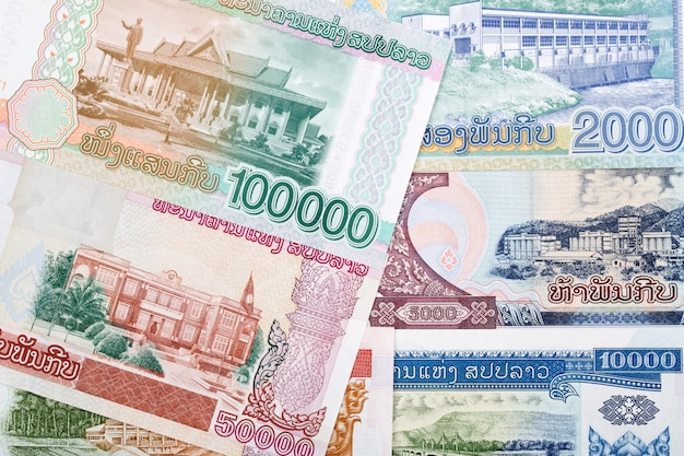 Currency of laos
