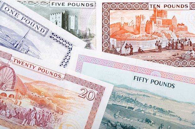 Валюта острова мэн - фунты бизнеса