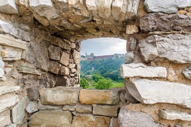 カミヤネツィのカーテンウォール-ウクライナのポディルスキー要塞