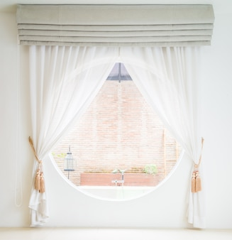 Curtain window decoration interior