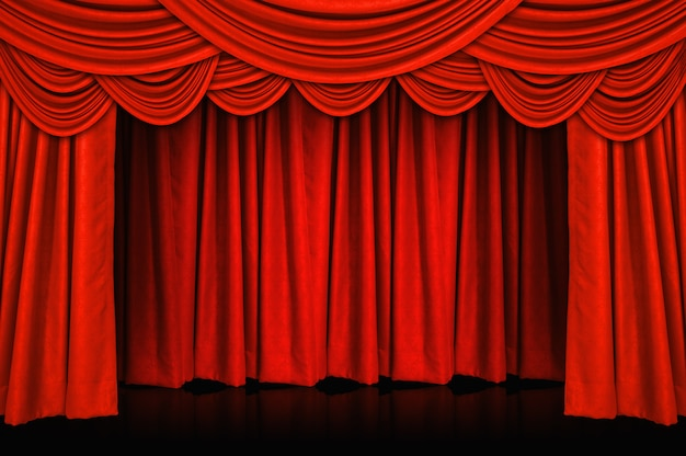 Curtains and stage