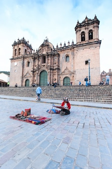 Cusco peru building was completed in 1654, almost a hundred years after construction began.