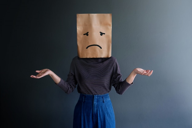 Customer experience or human emotional concept