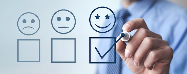 고객 경험. 만족도 조사 및 고객 서비스