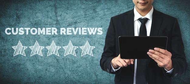 Концепция опроса отзывов об удовлетворенности клиентов.