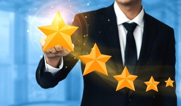 顧客レビュー満足度フィードバック調査の概念