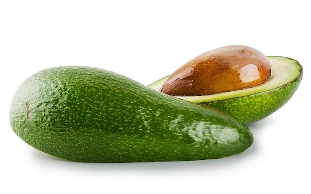 Вырезать и весь авокадо