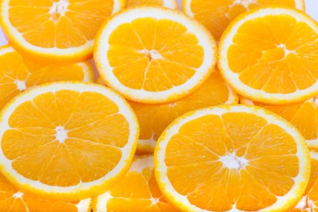 램을 가져오는 오렌지 질감을 잘라냅니다.