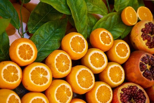 Вырезать апельсины Бесплатные Фотографии