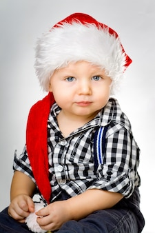 クリスマスにかわいい赤ちゃん