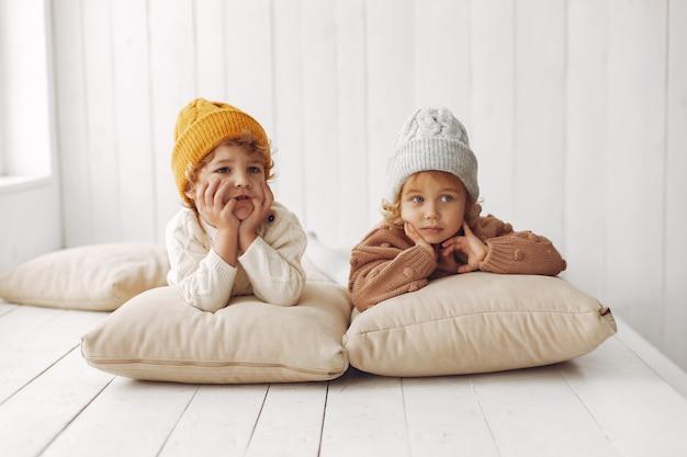 Cute children having fun