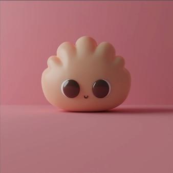 Cute colorful kawaii cartoon character