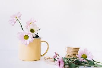 Cute flower composition