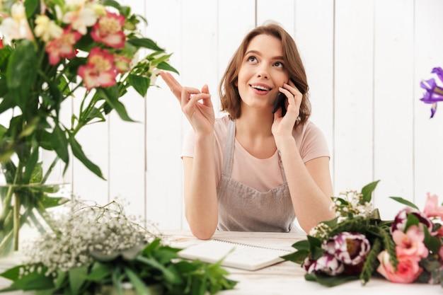 워크샵에서 꽃보다 귀여운 행복 꽃집 여자
