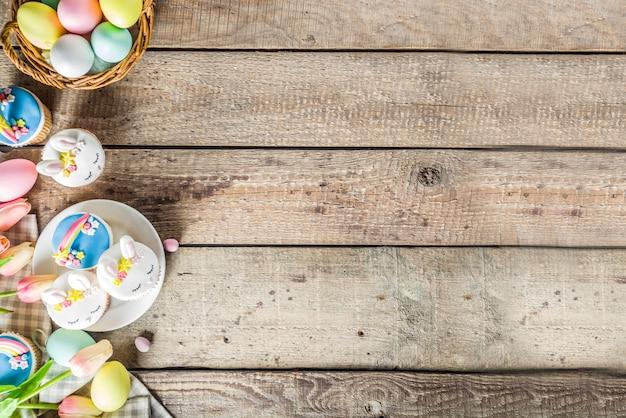 Симпатичные домашние пасхальные кексы