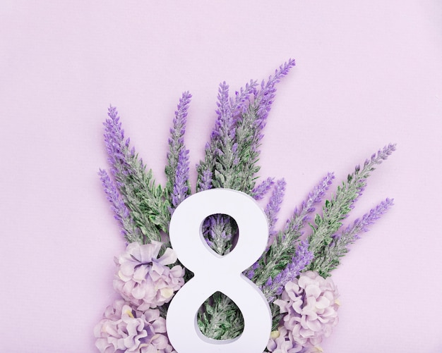 Cute lavender for 8th of march