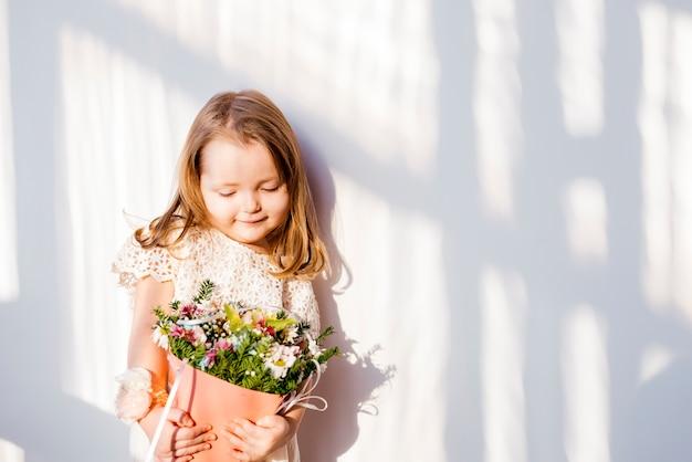 Cute litte bridesmaid