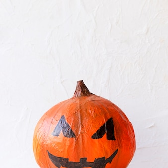 Cute paper jack-o-lantern for halloween celebration