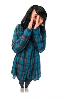 かわいい10代の少女