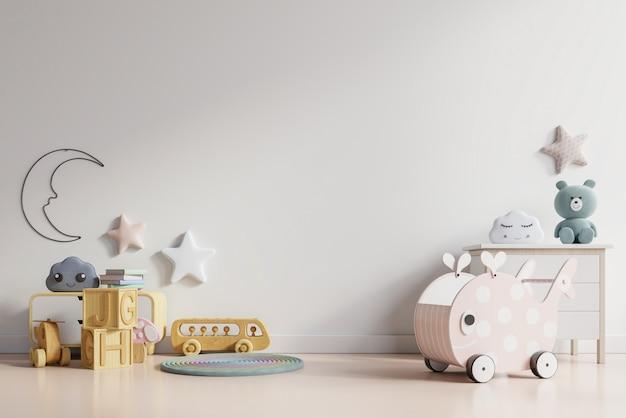Симпатичные игрушки в детской игровой комнате