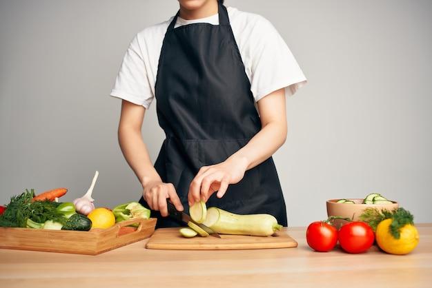 野菜を切る野菜健康的な食生活