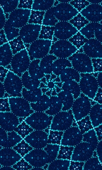 Голубой голубой галстук краситель границы края фона. окрашена акварельной краской. бохо современный абстрактный элемент веб-дизайна, разделитель или декоративный фон чернил для мобильного телефона.