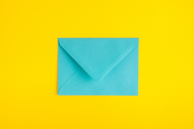 Cyan envelope
