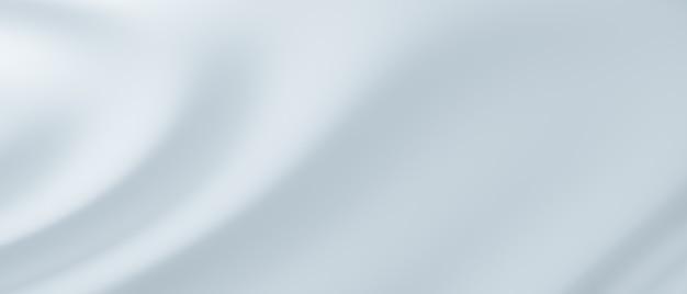 Голубая ткань текстуры фона с мягкой волной. абстрактные синие складки. предпосылка картины волны. 3d визуализация иллюстрации.