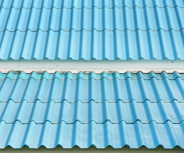 Cyan tiles roof