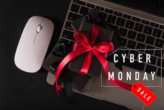 Cyber monday sale online shopping