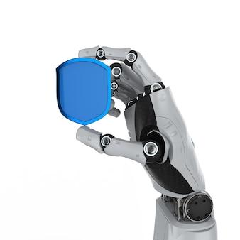 로봇으로 보호하는 사이버 보안 개념