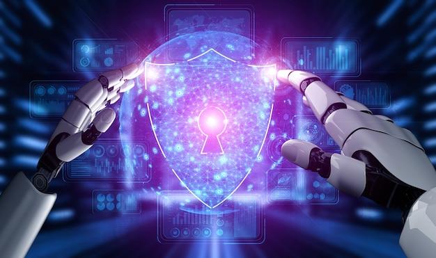 Технология кибербезопасности и защита данных в сети с помощью искусственного интеллекта