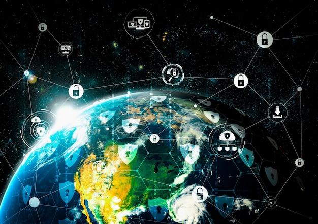 Технологии кибербезопасности и защита данных в интернете