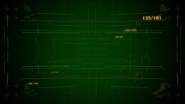 コンピューターのマトリックス、数字、グリッドを備えたサイバーパンクの背景。サイバーパンクと映画のテーマのためのモダンで未来的な3dイラストスタイル