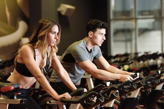 Cycling equipment healthy fit fitness