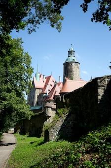 ポーランドのスチャの町にあるチョチャ城