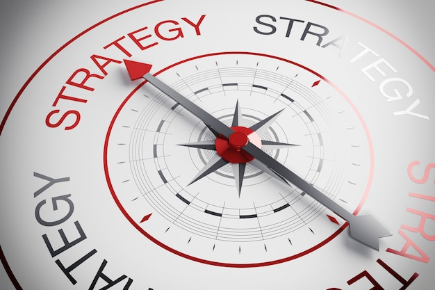 D illustration strategy compass