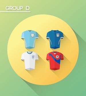 ジャージーとワールドカップグループdのベクトル
