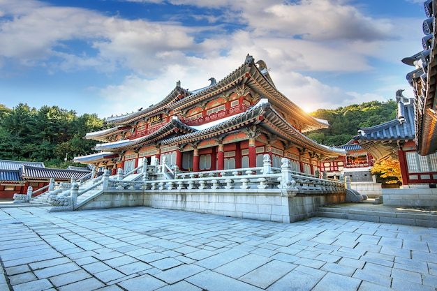 大長今公園または韓国の韓国時代劇