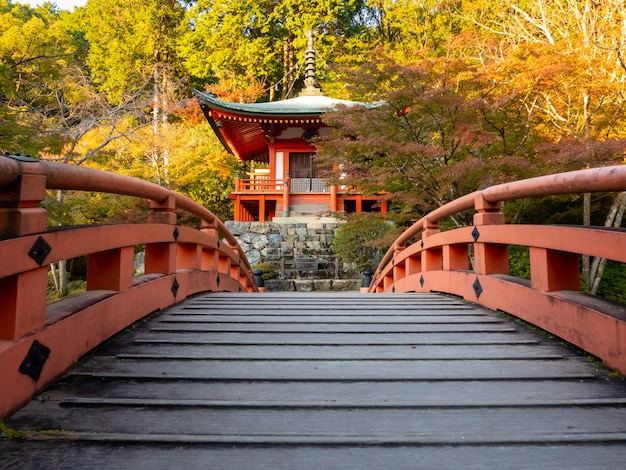 日本の秋。京都dai寺。
