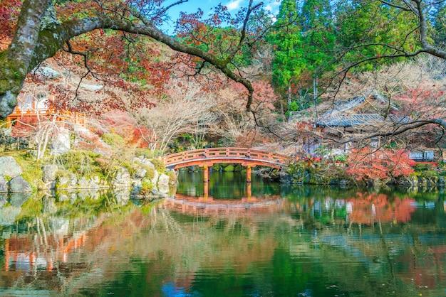 Daigo-ji temple  in autumn, kyoto, japan